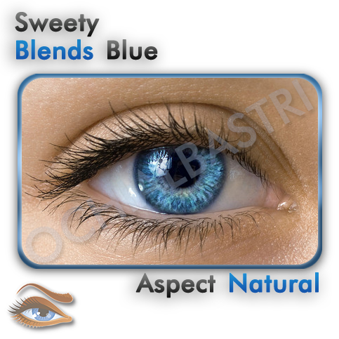 Lentile colorate Blends Blue