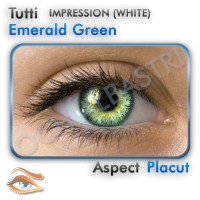 Lentile colorate Emerald Green