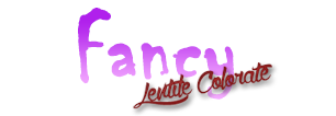 "Lentile colorate ""Fancy"""