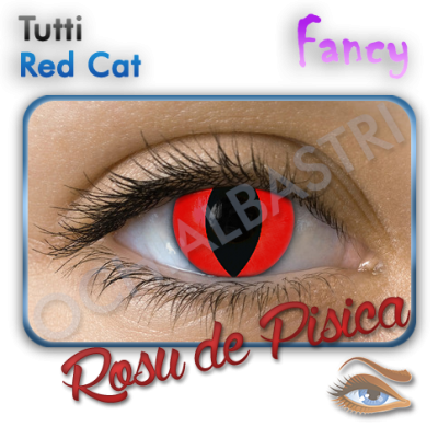 Fancy Red Cat Eyes