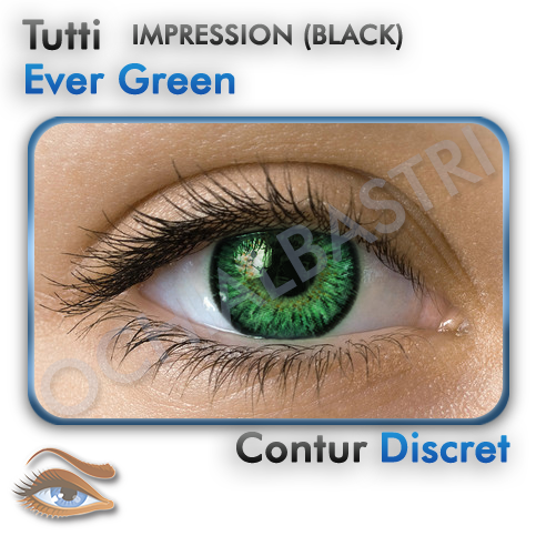 Lentile Colorate Ever Green